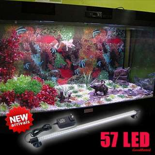 Aquarium Fish Tank White Blue Yellow Red Three Colors LED Lights