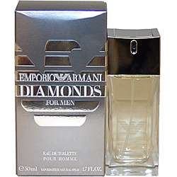 Emporio Armani Diamonds Mens 1.7 oz Eau de Toilette Spray