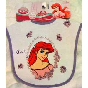 Disney Princess Ariel Little Mermaid Feeding Bib   Toddler