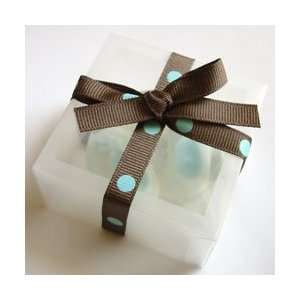 Blue Baby Booties Soap Giftset   Baby Shower Favor Beauty