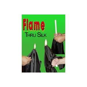 Flame through Silk   General Magic trick Toys & Games