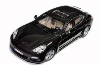 MAISTO PORSCHE PANAMERA TURBO 1/18 DIE CAST DARK GREY