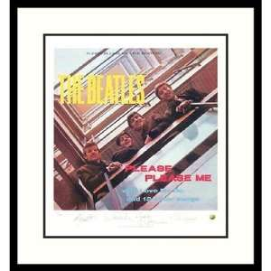The Beatles Please Please Me (album cover) Framed Print