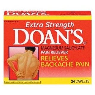 Doans extra strength pain reliever caplets   24 ea Health