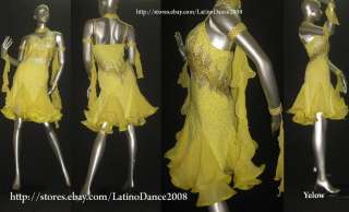 LATIN SALSA BALLROOM COMPETITION DRESS M108
