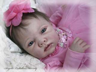 ROMIE STRYDOM~PORSHA~Reborn Newborn Baby Girl~Biscotti~HTF Sold Out LE