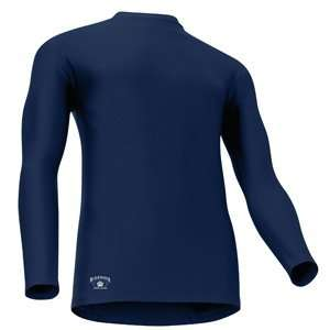 Black Water Gear   Tight Fit Compression Long Sleeve Mock