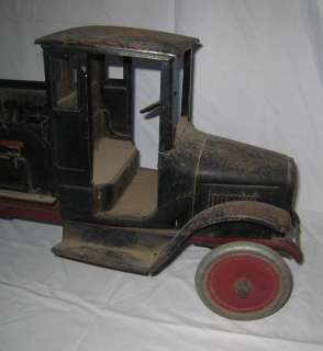 1920 s BUDDY L SAND & GRAVEL TRUCK PRESSED STEEL ALL ORIGINAL