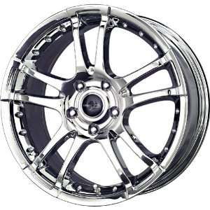 Liquid Metal Venom Chrome Wheel (17x7.5/4x100mm