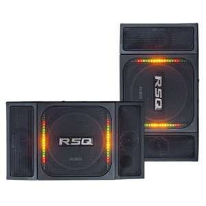 Speaker System with Voice & Music Activated LED Light Electronics