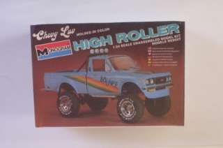 CHEVY LUV 4x4 Truck HIGH ROLLER Lifted Pickup SEALED Monogram 124