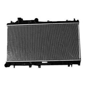 TYC 13091 Subaru Impreza 1 Row Plastic Aluminum Replacement Radiator
