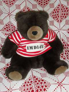 12 stuffed plush Valentine Inmate TEDDY BEAR IMD14U