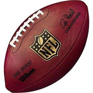 NFL Game Football by Wilson (Signed by Roger Goodell)