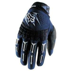 Fox Racing Youth Dirtpaw Gloves   2007   Medium/Navy Automotive