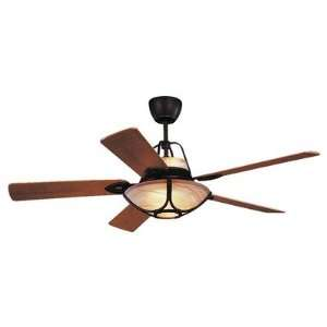 Monte Carlo Fan Company 5ALR56RBD L 56 Alicante Ceiling Fan in Roman