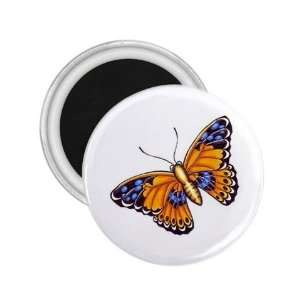 Tattoo Butterfly Paint Art Fridge Souvenir Magnet 2.25