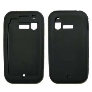 com Solid Black Soft Silicone Gel Skin Cover Case for LG Arena KM900