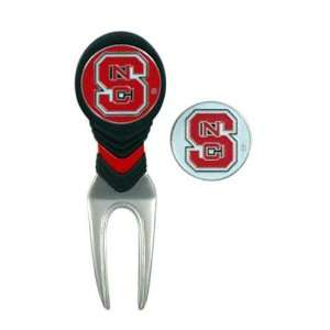 North Carolina State Wolfpack NCAA Ball Mark Repair Tool