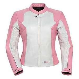 TourMaster/Cortech LNX WOMENS LEATHER MOTORCYCLE JACKET
