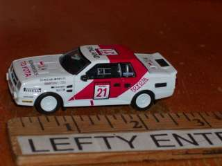 FINLAND#21 RACING 1985 TOYOTA CELICA GTS COUPE 1/64 SCALE