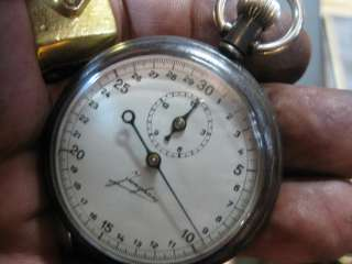 dial is original in excellent condition the gun metal black