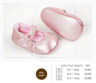 Baby & Toddler girl Pink Crib Ballet Shoes
