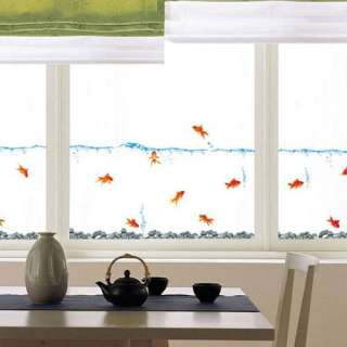 GOLDFISH Mural Wall Art Decor Sticker Decals Kids SS31