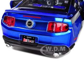 2011 FORD MUSTANG GT BLUE CUSTOM 1/24 DIECAST CAR MODEL BY MAISTO