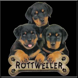 Rottweiler Puppies Dog Breed Bone Shirt S 2X,3X,4X,5X