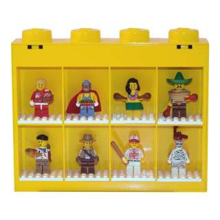 LEGO MINIFIGURE DISPLAY CASE NEW + OFFICIAL BEDROOM FURNITURE
