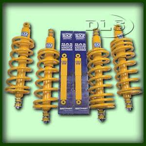 LAND ROVER DEFENDER 90 2 LIFT SPRING AND SHOCKER SET
