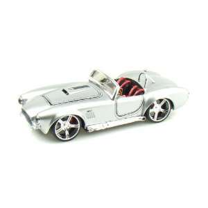 1965 Ford Shelby Cobra 427 1/24 Silver Toys & Games