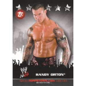 WWE Trading Cards ToppsTown Insert Randy Orton #TT22 Toys & Games