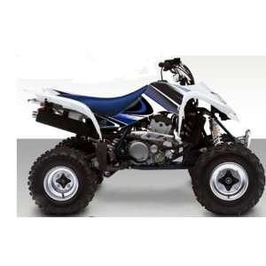 Suzuki LT Z400 Razor ATV Graphic Kit (White/Blue) (2003