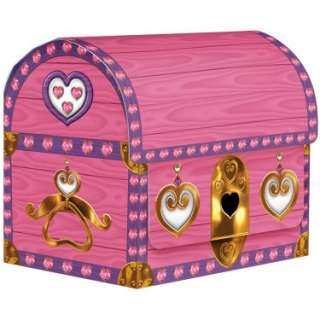Halloween Costumes Princess Treasure Chest Treat Boxes (4 count)