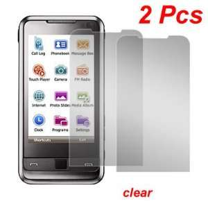 Gino 2 Pcs Clear LCD Screen Protector for Samsung i900
