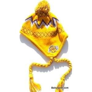 Baby Infant Toddler Kid Los Angeles Lakers Beanie Cap