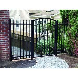GTO Gate   Palmetto 6ft Walk Through Gate   Arch Top   single   #G5206