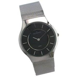 Mens Skagen Steel Ultra Slim Dress Watch 233LSSB Watches