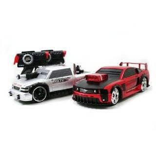 Battle Machines Radio Control Laser Combat Tag 2 Pk Car Set Silverado