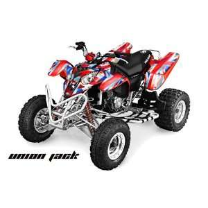 2002 2011 Polaris Predator 500 ATV Quad, Graphic Kit   Union Jack