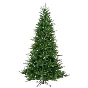 Spruce Artificial Christmas Tree   White LED Lights