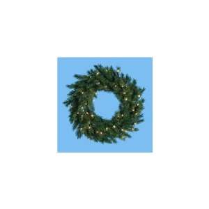 30 Pre Lit Classic Pine Artificial Christmas Wreath