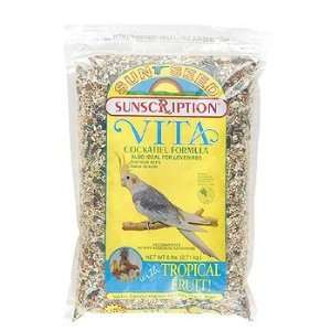 Sun Seed Vita Cockatiel Bird Food 6lb