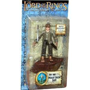 the King Collectors Series Action Figure Mount Doom Sam Toys & Games