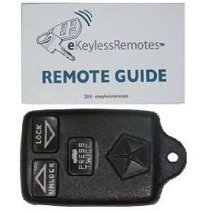1994 1997 Chrysler LHS Keyless Entry Remote Fob With Do It
