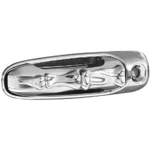 Bone Style Chrome Trim Door Handles (Center and Surround) Automotive