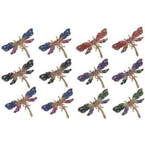 Fridge Magnet Collection Dragonfly Copper Decoration
