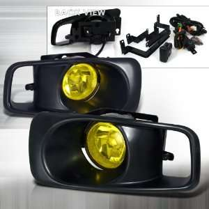 Honda Civic OEM Fog Lights Yellow With Wire Relay & Switch Automotive
